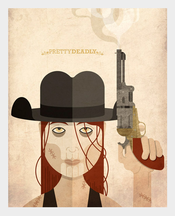 Fan art do comic «Pretty Deadly»